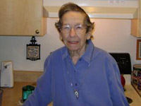 """The new cabinets are beautiful.  I really love the floors, also.""<br /><br />Theresa (Jean) Liszewski<br />Mission Gardens"