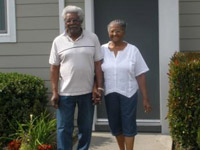 """It was like moving into a brand new apartment.""<br /><br />Hazel & Roosevelt Harrison<br />Parkview Apartments"