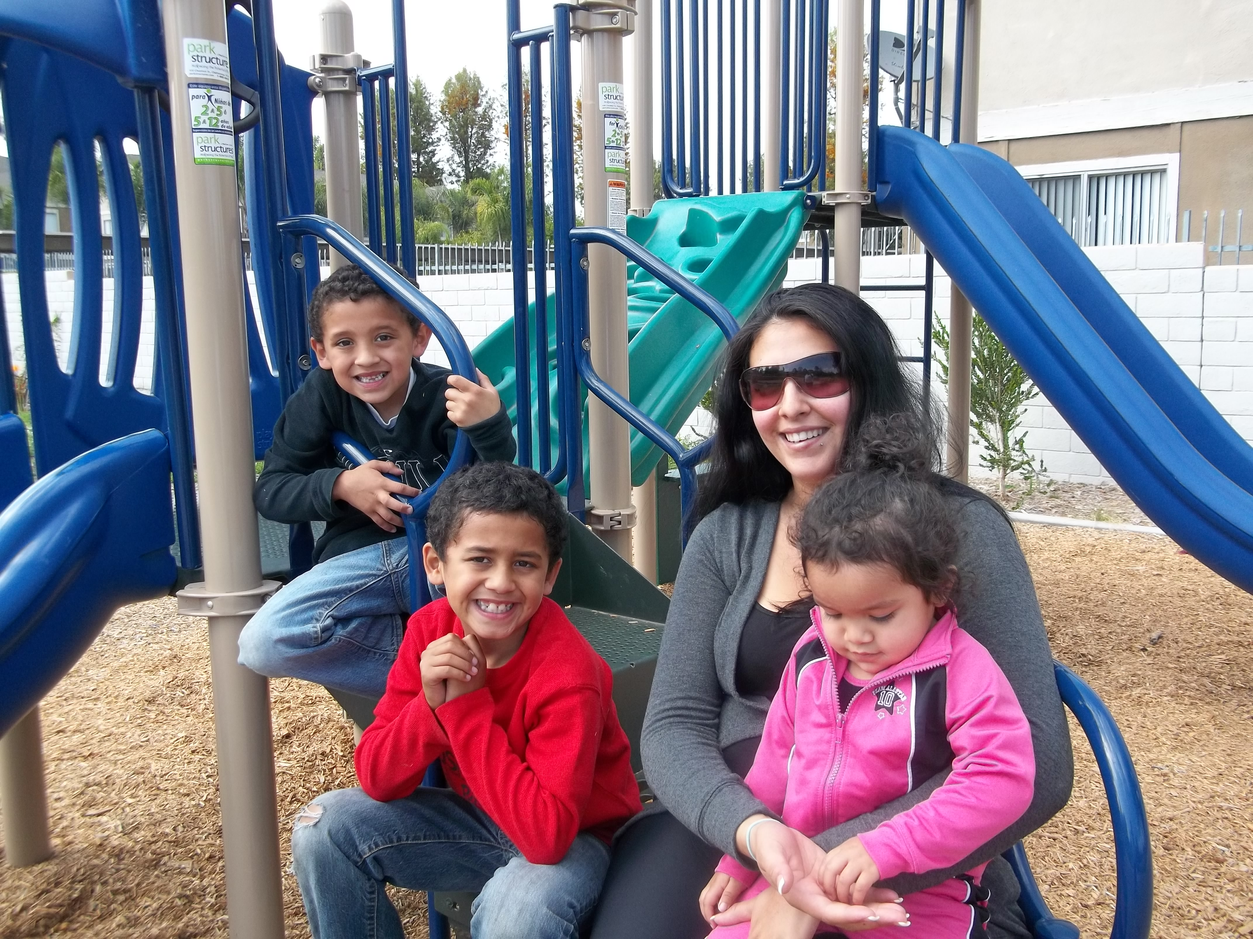 """I truly love living here.  The kids playground and computer room are very nice.""